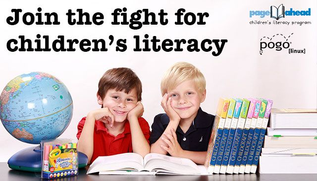 Help Page Ahead fight for children's literacy