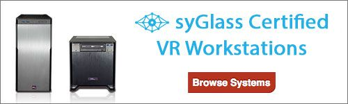 syGlass VR Workstations from Pogo Linux
