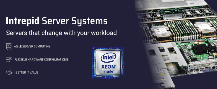 Interpid server systems banner