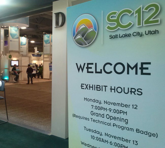 Welcome SC12
