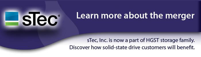 sTec SAS SSDs