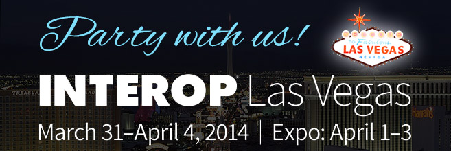You're invited to pre-show party at INTEROP