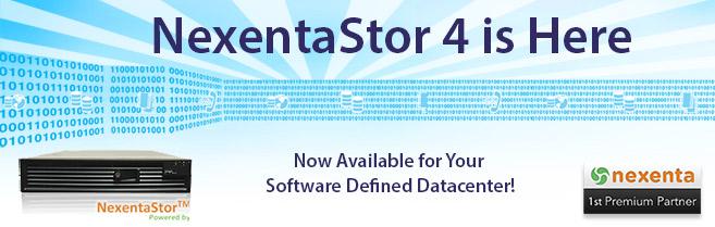 NexentaStor 4 is Here
