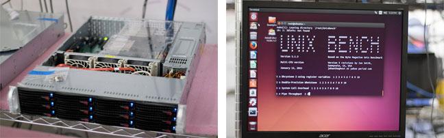 Intel Xeon rack server