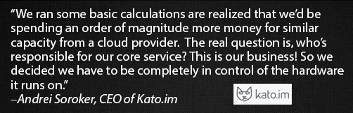 Quote from Kato CEO