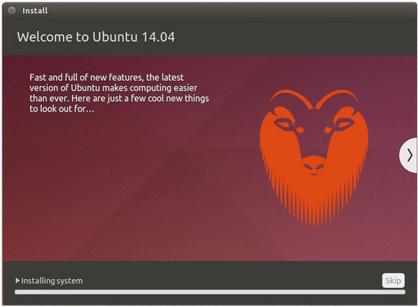 Installing Ubuntu 14.04