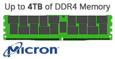 Up to 4TB of DDR4 Memory