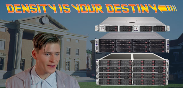 Twin Servers from Pogo Linux - Density is your destiny