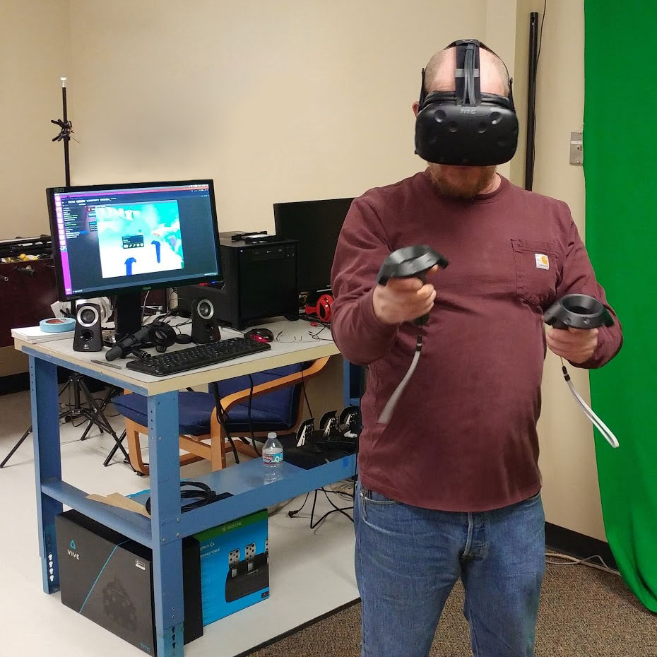 Testing Steam VR