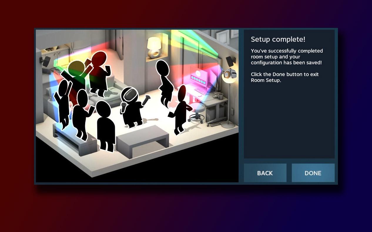 Steam VR Setup Complete