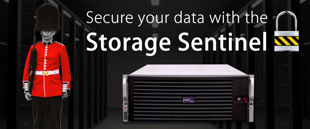 Secure your data with the Storage Sentinel