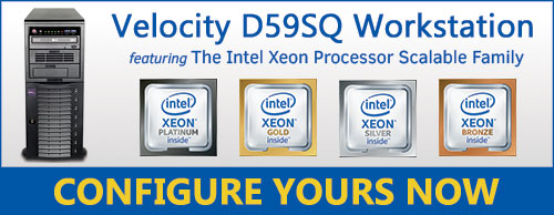 Velocity D59SQ with Intel Xeon SP