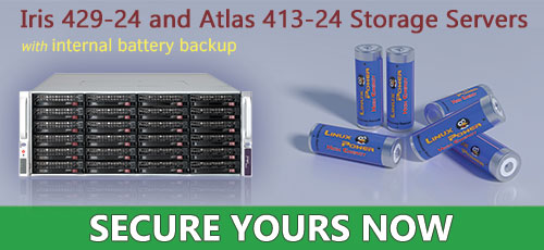 Configure your storage server with battery backup