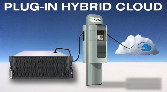 Plug-in hybrid cloud