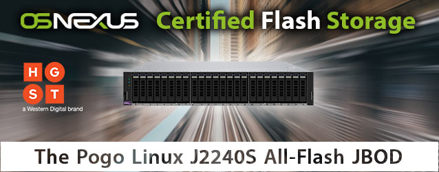 OSNEXUS Certified All-Flash JBOD