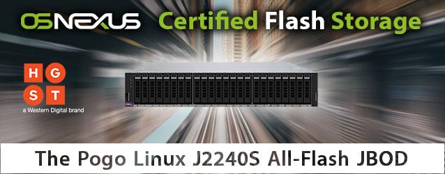 OSNEXUS Certified All-Flash JBOD