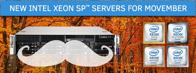 New Intel Xeon SP Servers