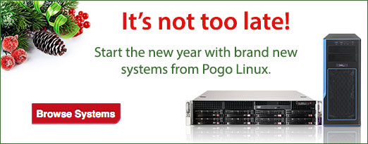 Start your new year with Pogo Linux