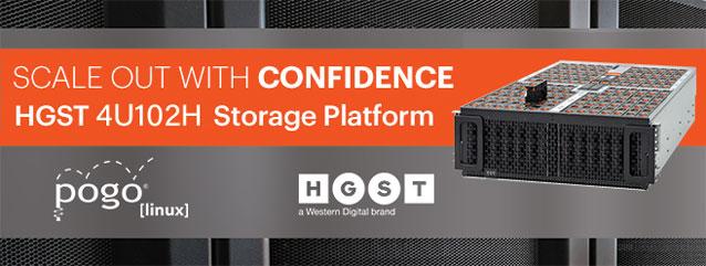 HGST 4U102H Storage Platform