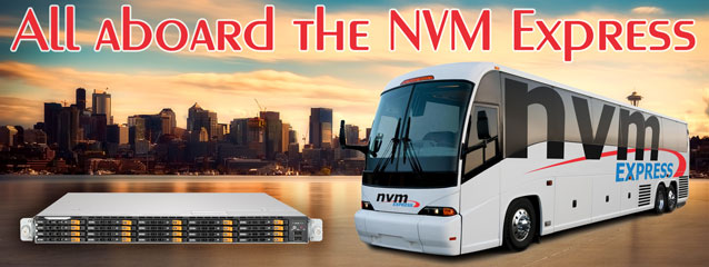 All aboard the NVM Express