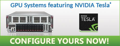 GPU Servers featuring NVIDIA Tesla