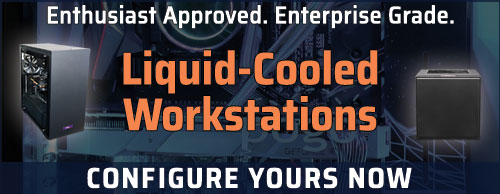 Liquid Cooled Workstations