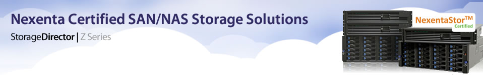 Nexenta Certified SAN/NAS Storage Solutions