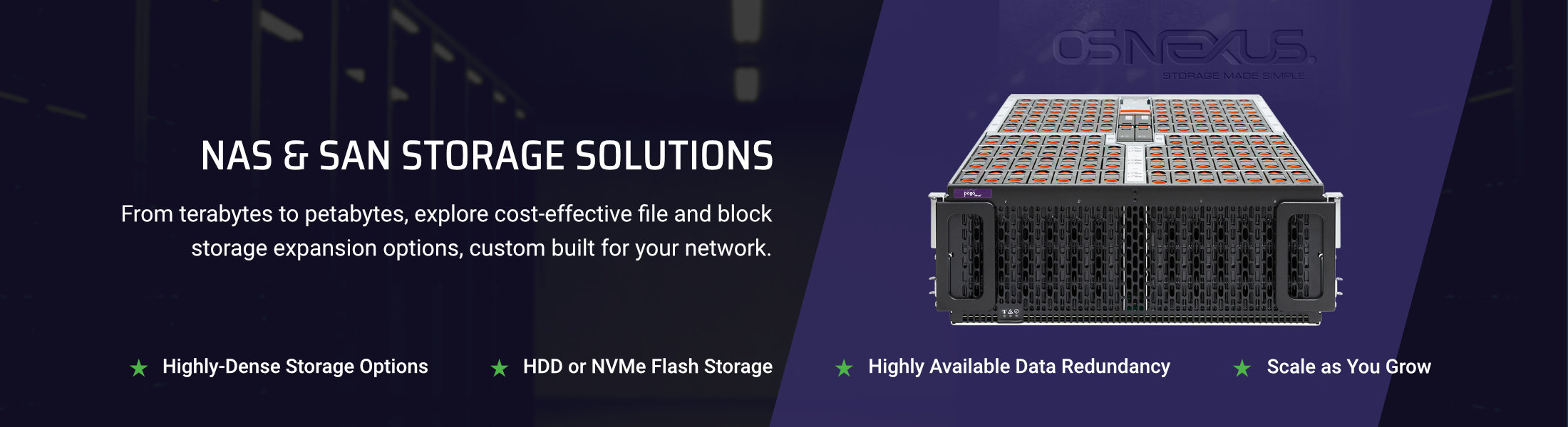 NAS and SAN solutions by Pogo Desktop