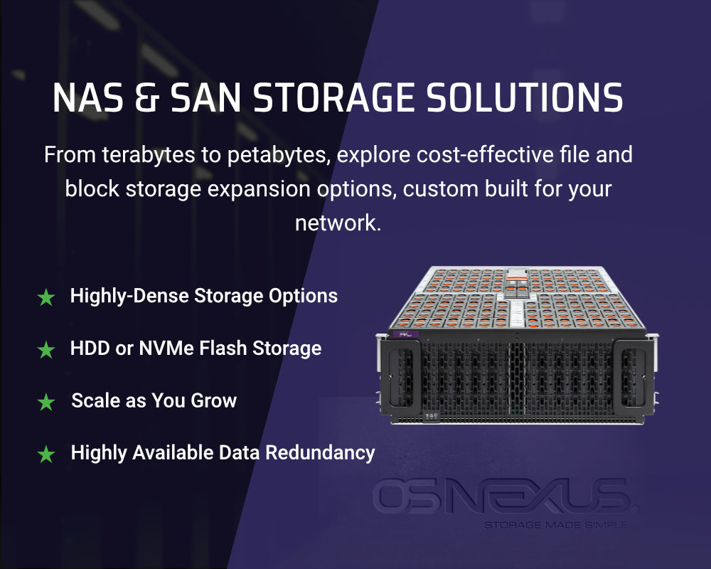 NAS and SAN solutions by Pogo Mobile